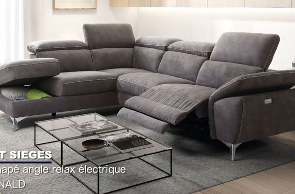 Canapé d'angle DONALD