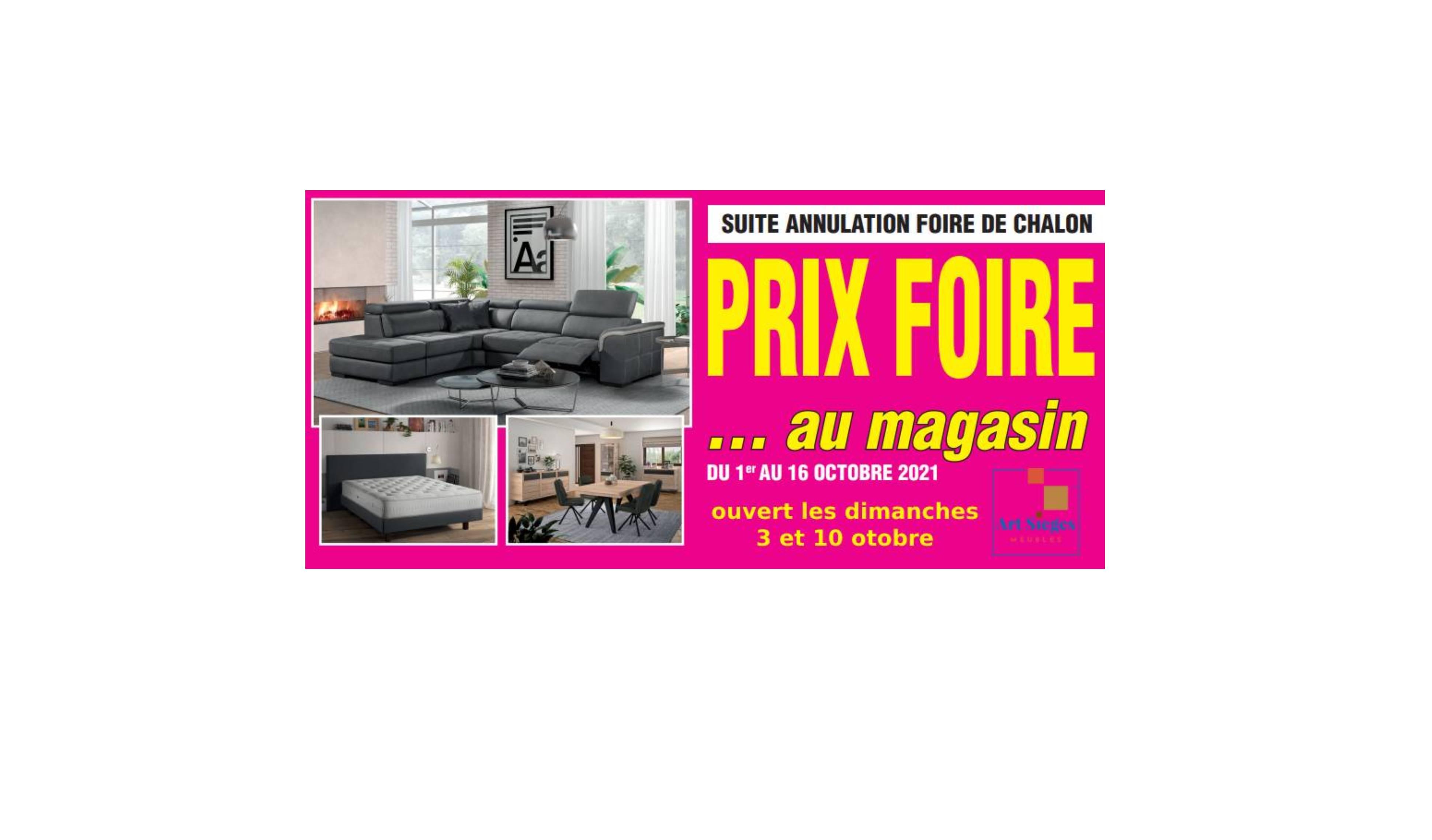 Opération Prix Foire !!!