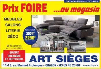 ART SIEGES - Promotion